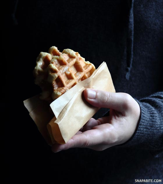The other Belgian Waffle | Snap a Bite